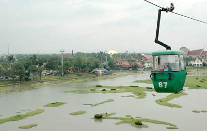 Kereta Gantung Taman Mini Indonesia Indah