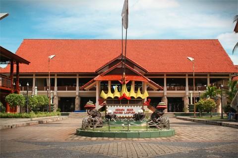 Anjungan Lampung Taman Mini Indonesia Indah